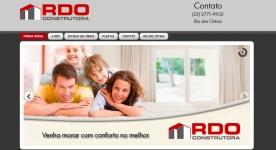 Site RDO Construtora