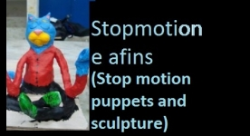Stop motion puppets and sculpture