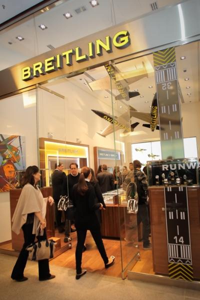 Inauguração Boutique Breitling e Coquetel