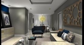 Projetos de Salas de estar e jantar