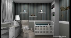 Projetos de quartos de bebê