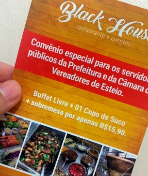 Flyer - Restaurante Black House | Last update08/11/2017