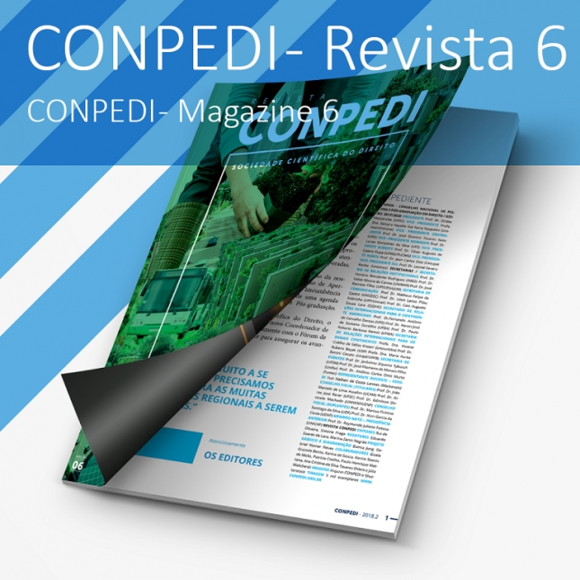 Revista CONPEDI - Volume 6/JUN 2018
