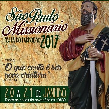 Paróquia São Paulo Missionário | Ultima atualização19/01/2020