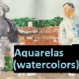 Aquarelas (watercolors)