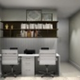 Projetos de escritórios e home-office