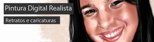 Pintura Digital - Retratos e caricaturas