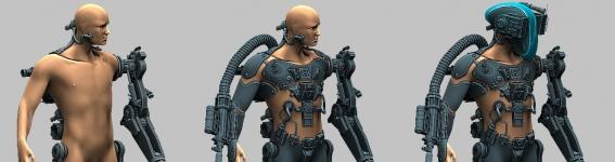 Personagens 3D & Esculturas Digitais