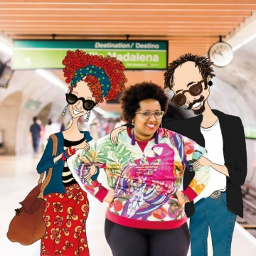 Estilosos no Metrô na Mídia