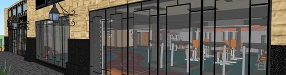Projeto de Interiores Academia Marapendi