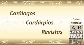 * Catálogos | Cardápios | Revistas *