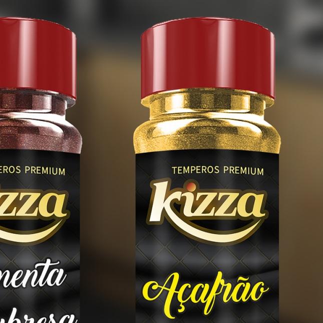 Rótulos Temperos Premium Kizza | Ultima atualização20/01/2021